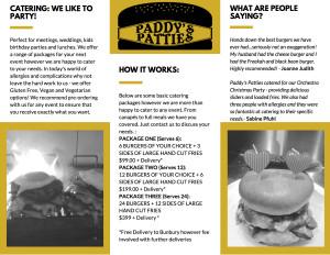 PADDY'S PATTIES 2